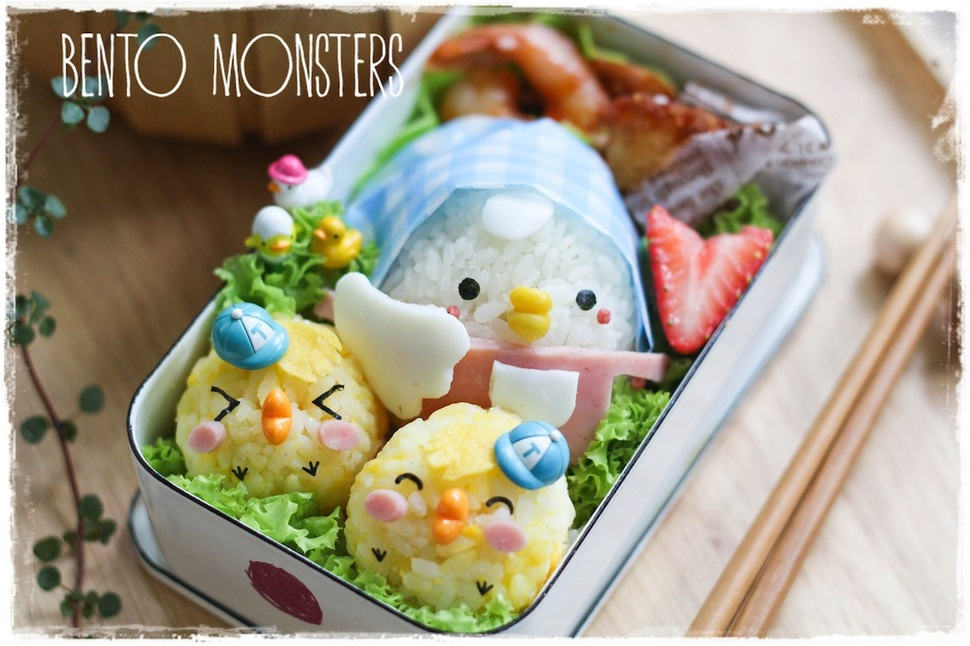 Mothers Prepare Creative Bento Lunches For Her Kids Every Day 15