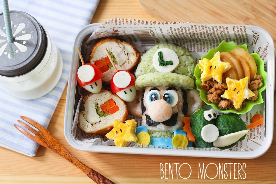 Mothers Prepare Creative Bento Lunches For Her Kids Every Day 20
