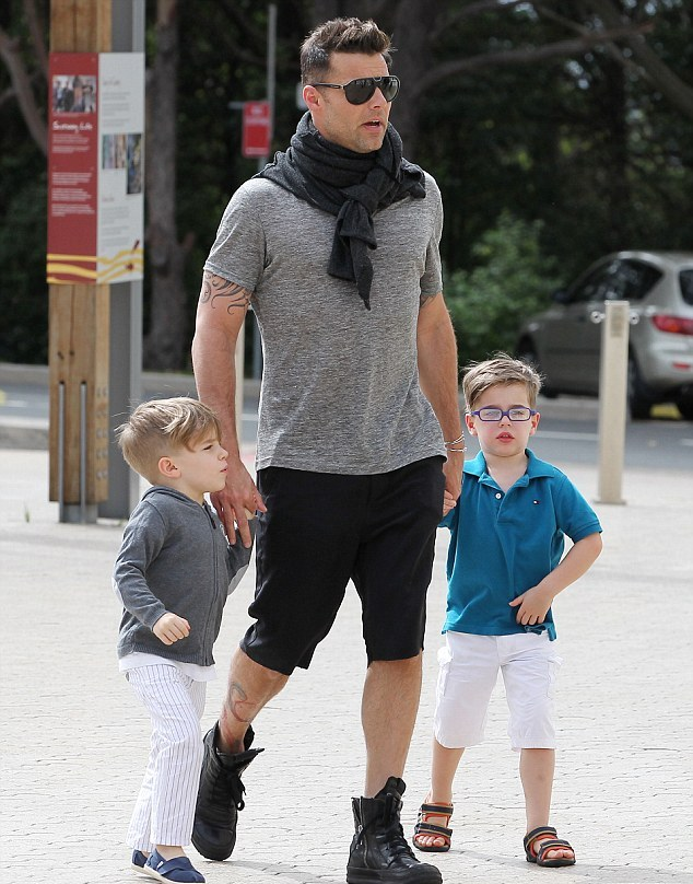 ricky martin kids Dad Was I In Your Belly 4