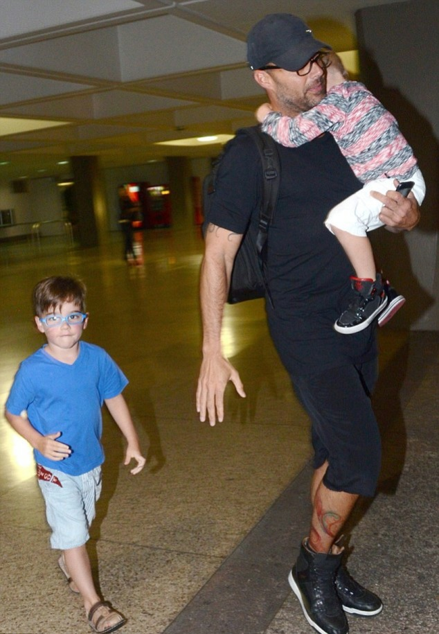 ricky martin kids Dad Was I In Your Belly 6