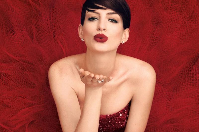 Anne Hathaway Harper's Bazaar November 2014 1