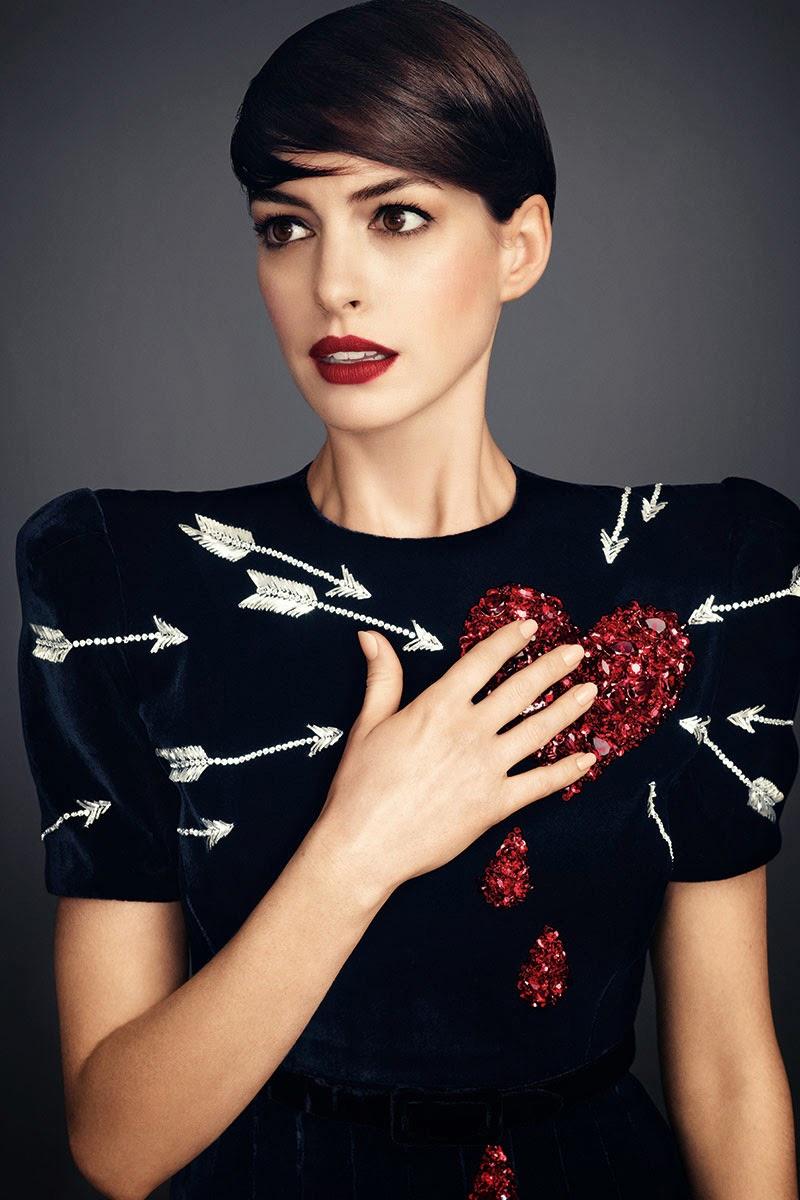 Anne Hathaway Harper's Bazaar November 2014 3