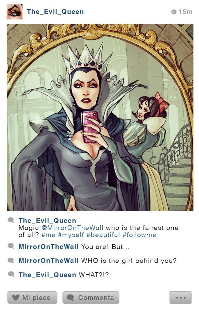 disney charater instagram 2