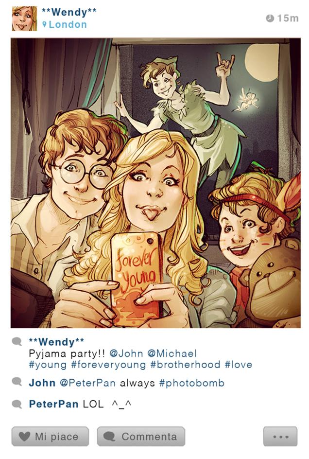 disney charater instagram 4
