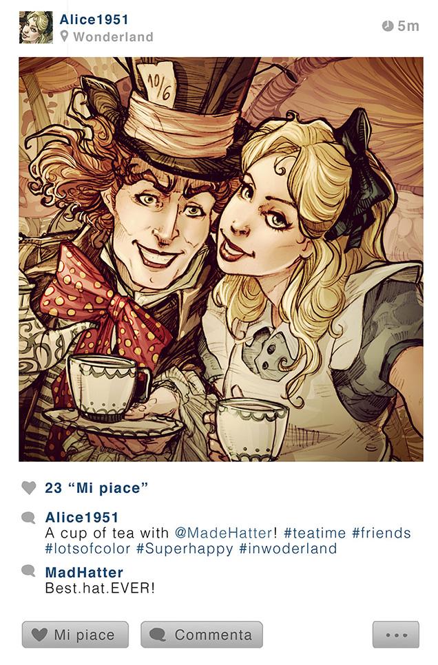 disney charater instagram 5