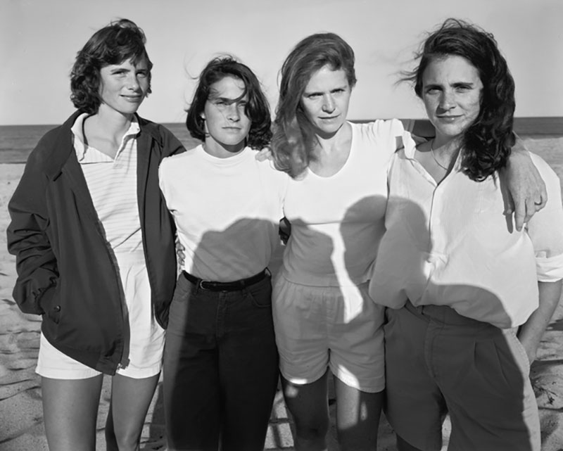 forty year portrait of 4 women 2