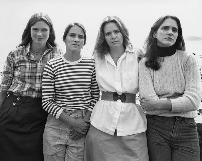 forty year portrait of 4 women 7