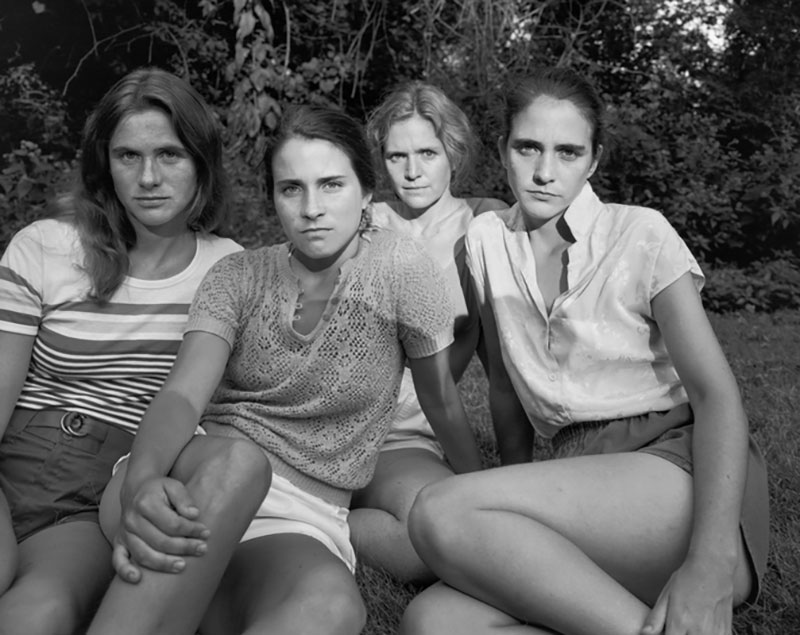 forty year portrait of 4 women 8