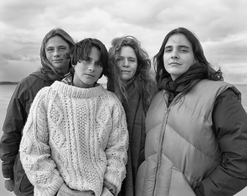 forty year portrait of 4 women 9