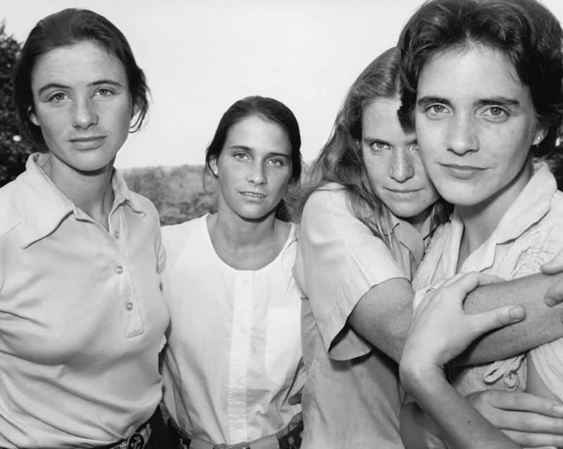 forty year portrait of 4 women 10