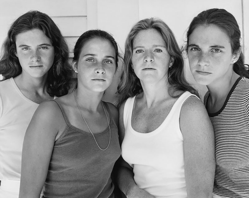 forty year portrait of 4 women 12