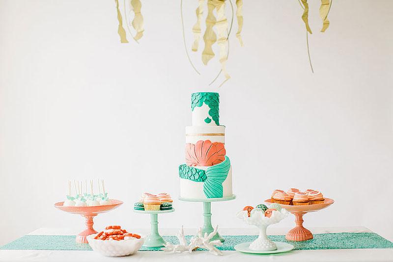 little mermaid wedding 16