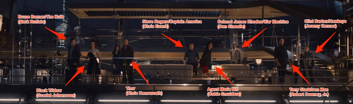 Who Is The Mystery Woman In 'The Avengers' Sequel Trailer   2