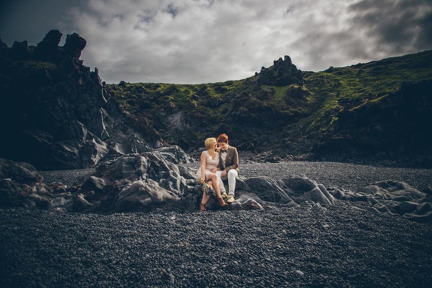 Iceland: Same Sex Wedding Wonderland 10