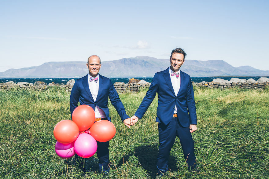 Iceland: Same Sex Wedding Wonderland 12