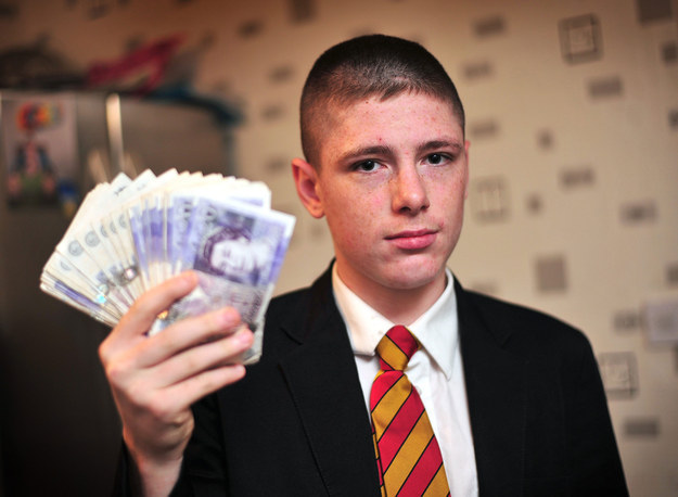 This Kid's School Threatened To Suspend Him Because He sold £14,000 Sweets To Pay Tuition Fees 1