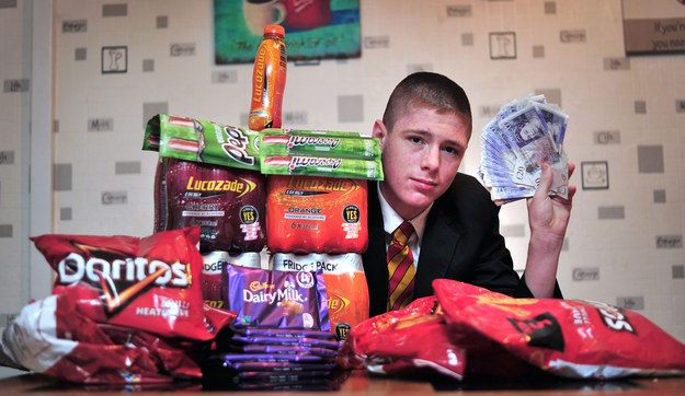 This Kid's School Threatened To Suspend Him Because He sold £14,000 Sweets To Pay Tuition Fees 2