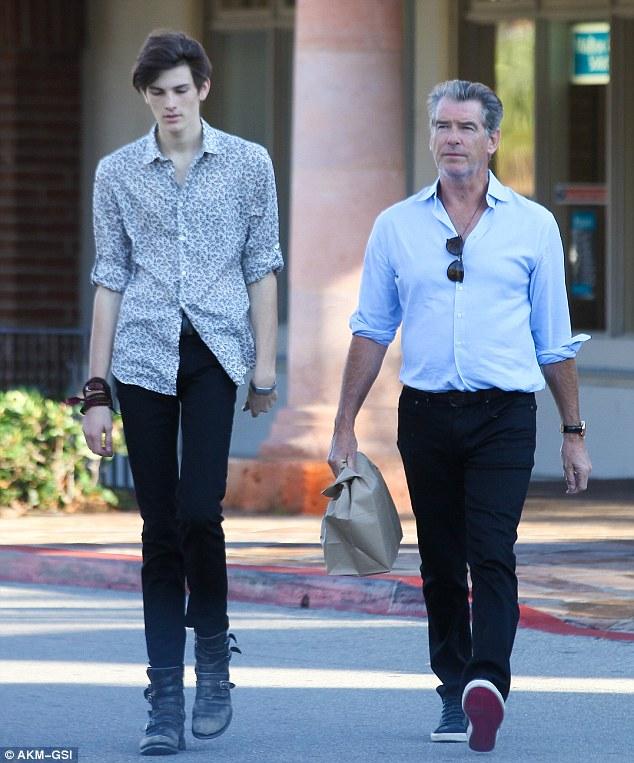former 007 actor Pierce Brosnan's model son Dylan 11