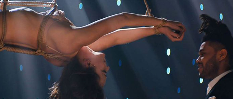 The Weeknd為《格雷的五十道陰影》錄製音樂MV,挑戰你的感官極限 5