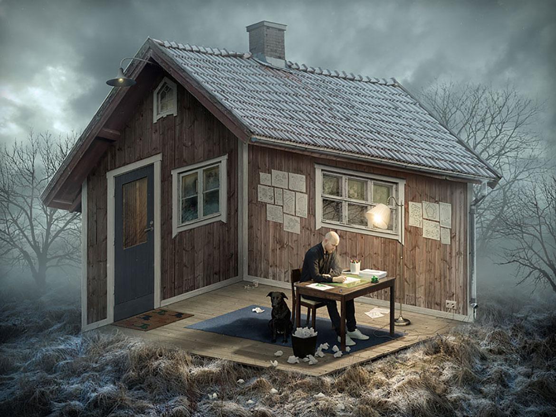 瑞典攝影師Erik Johansson的錯視覺世界 1