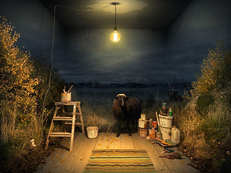 Mind-Bending Optical Illusions By Swedish Photoshop Master Erik Johansson 8