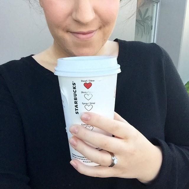 Starbucks Adds Sweet Heart Symbols for Valentine's Day 3