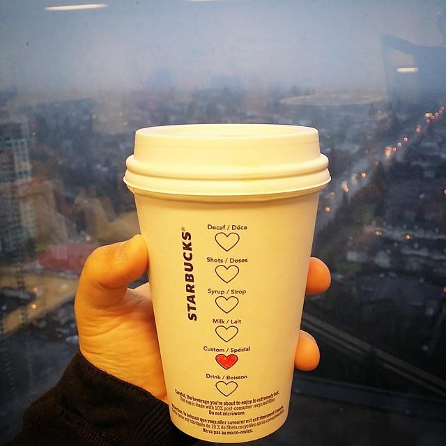 Starbucks Adds Sweet Heart Symbols for Valentine's Day 4
