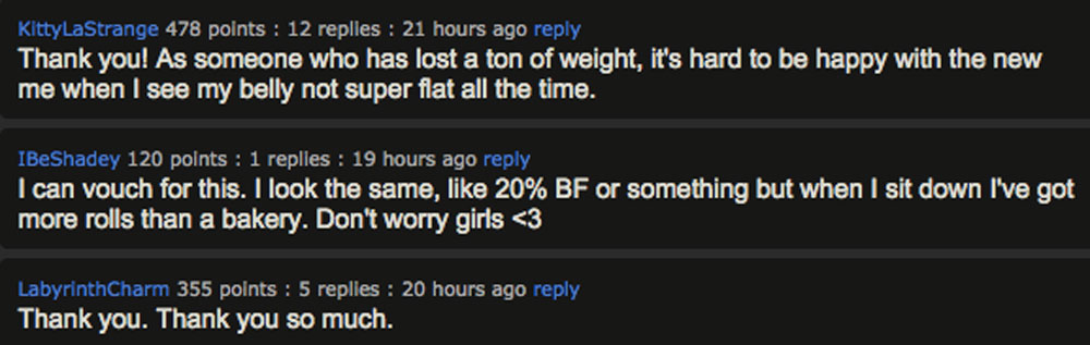 A Refreshing Reminder That Even Fit Bodies Aren't Perfect 1