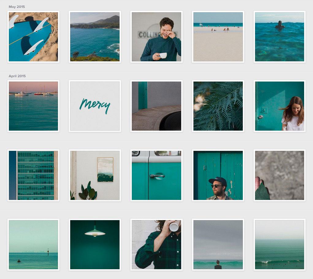 他把Instagram變成一本Pantone色卡,帶我們重新看見世界的豐富色彩 2