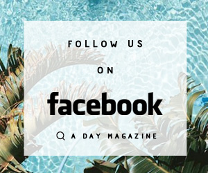 Follow US on Facebook A Day Magazine IMG
