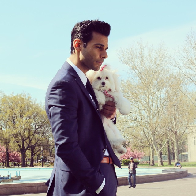 Handsome Men Pose With Their Rescued Pets, Help Animals Get Adopted 7