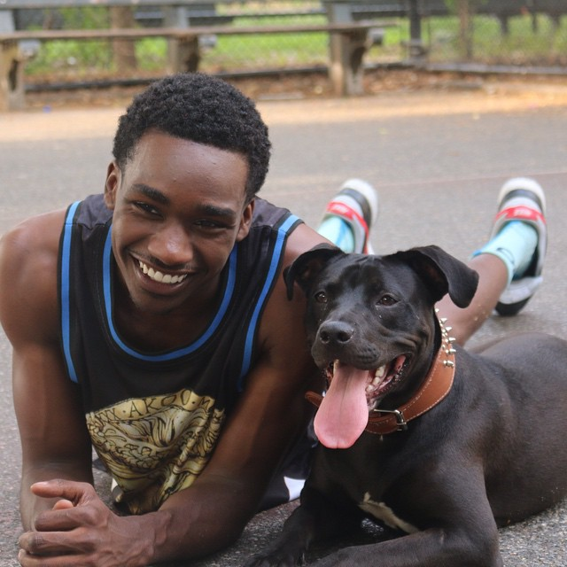 Handsome Men Pose With Their Rescued Pets, Help Animals Get Adopted 8