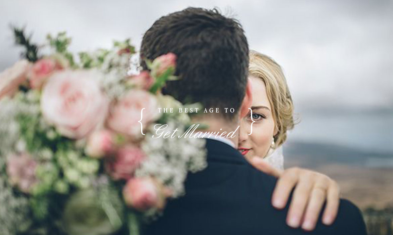 研究.發現:最適合結婚的年齡是...?The Best Age To Get Married Is ... ‧ A