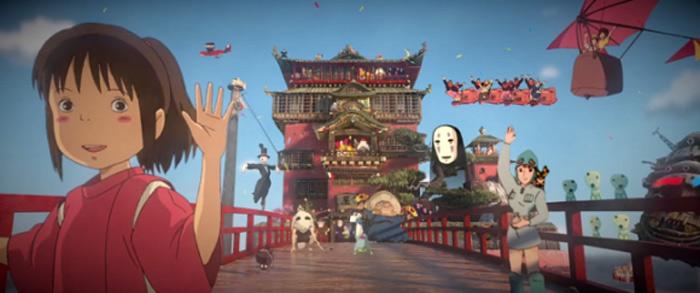 Stunning 3D Tribute To Studio Ghibli And Hayao Miyazaki 1