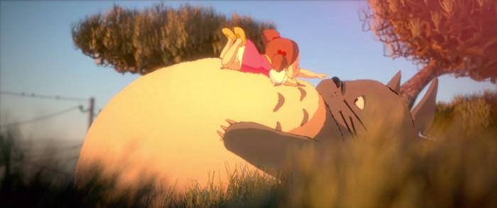 Stunning 3D Tribute To Studio Ghibli And Hayao Miyazaki 6