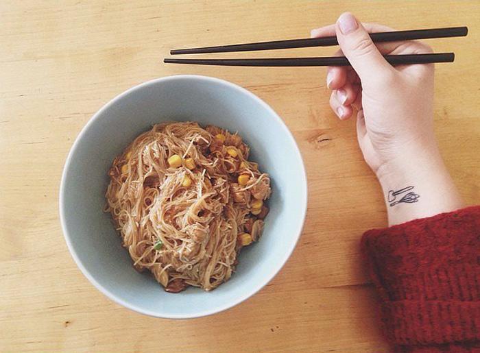 Tiny  Tattoo Ideas That Foodie Will Love 8