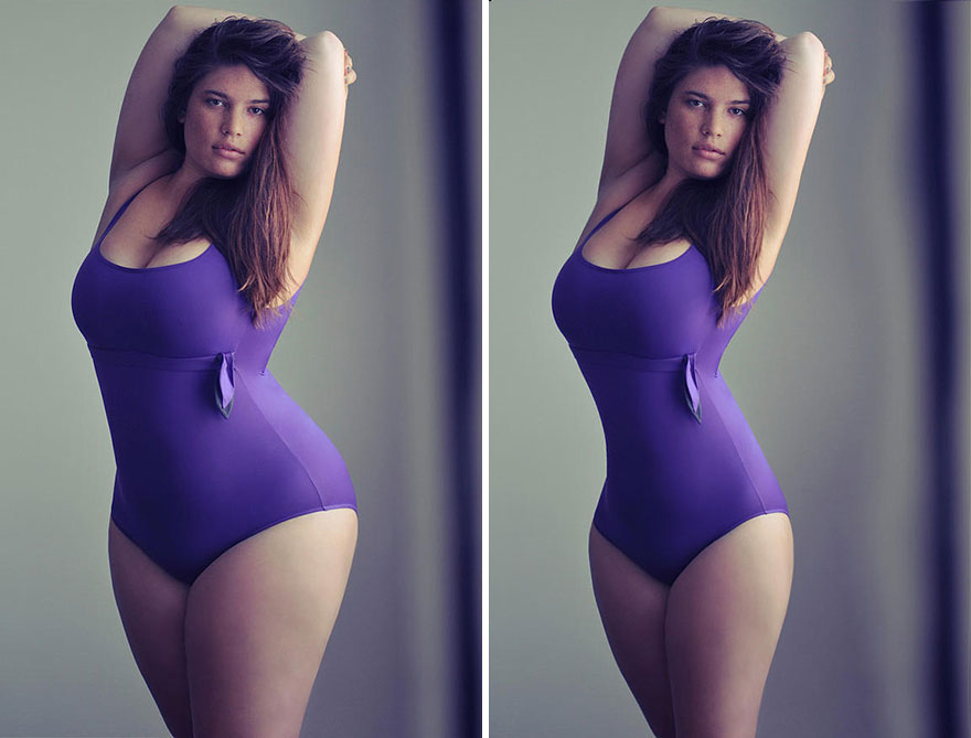 This problematic online group is Photoshopping famously body positive celebrities to look thinner 4