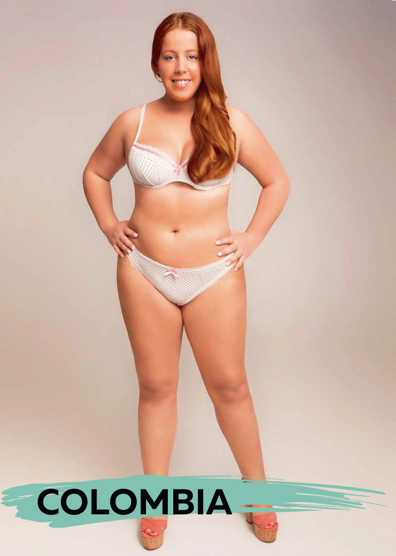 This Woman Got Photoshopped in 18 Countries to Show Their Very Different Beauty Standards 6
