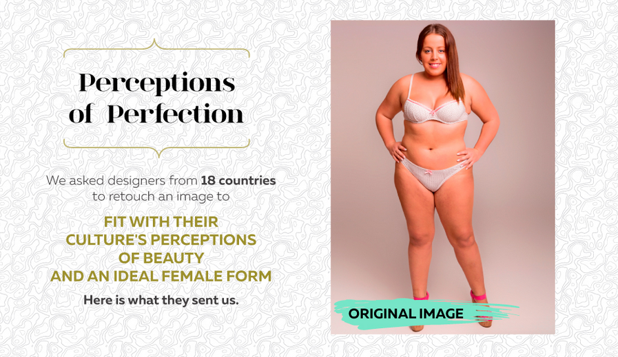 This Woman Got Photoshopped in 18 Countries to Show Their Very Different Beauty Standards 20