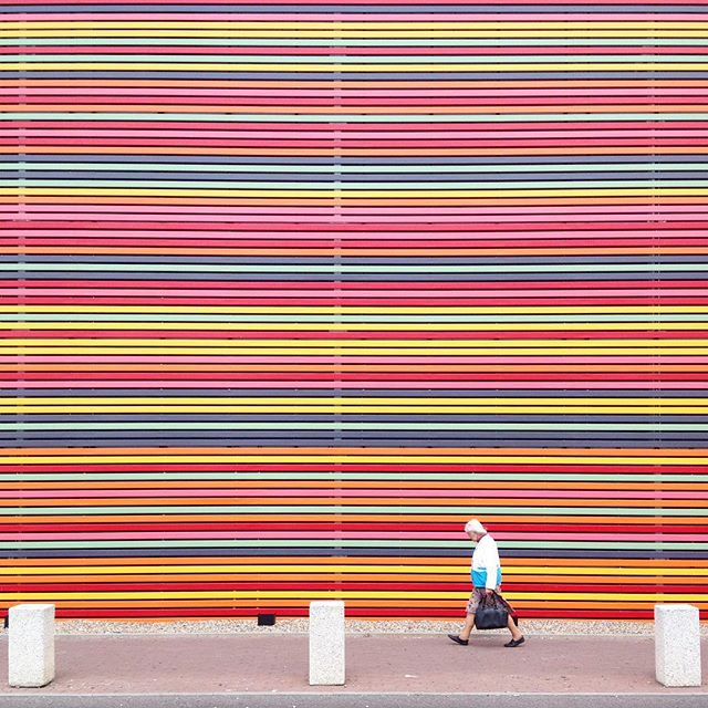 Photographer Captures Colorful, Striking Lines And Patterns In His Surroundings 15