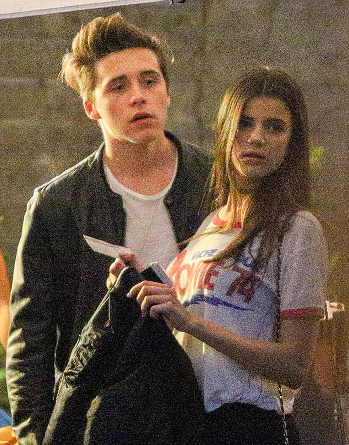 Brooklyn Beckham And Sonia Ben Ammar Certainly Make Quite The Good-looking Pair 6