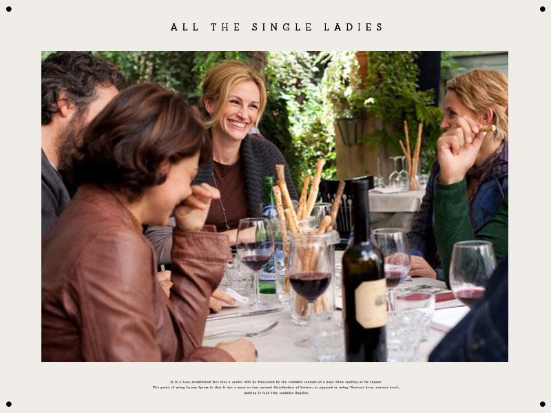 All the Single Ladies:20 件專屬於單身女性過節的好處與特權 34