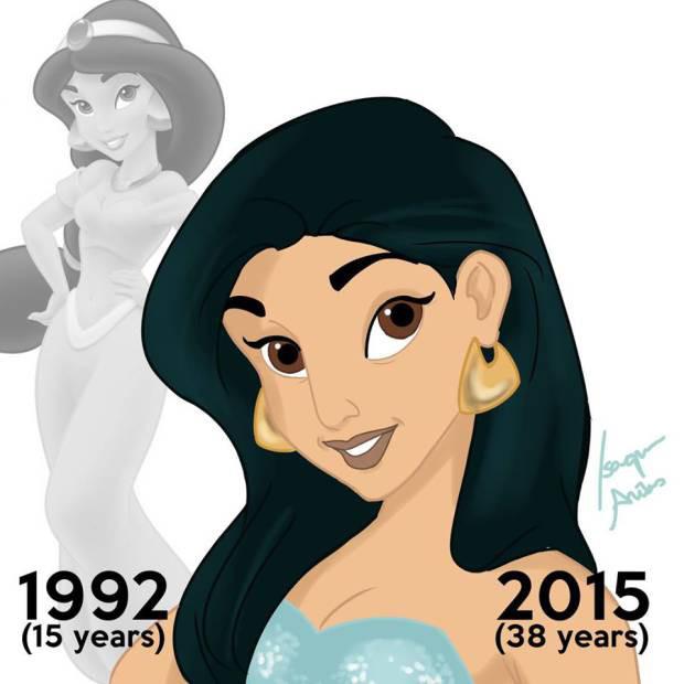 一起變老吧!陪伴我們成長的 Disney Princesses 更成熟了? 9