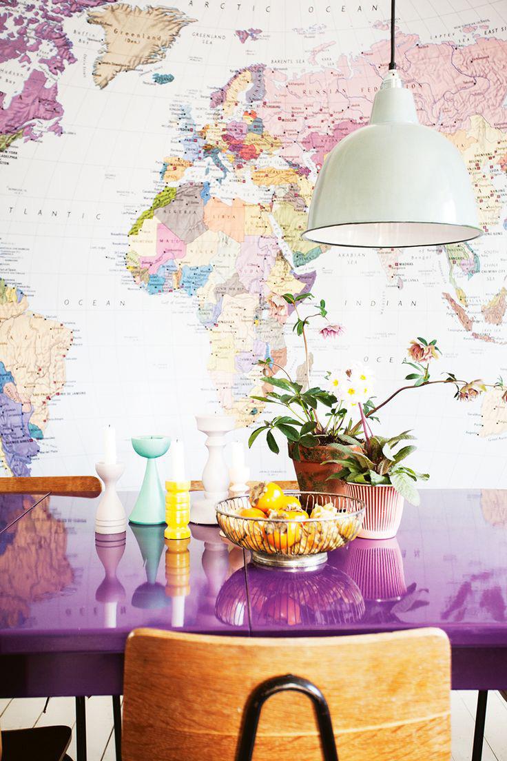 地圖控家居設計靈感 住這樣的房子每天都會想旅行吧? ‧ a day magazine