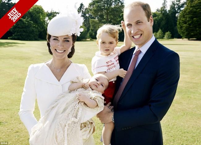 來自英國皇室的祝福:一家四口迎接小公主 Charlotte 的第 1 個快樂聖誕 1