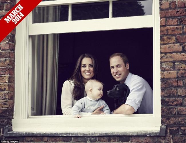 來自英國皇室的祝福:一家四口迎接小公主 Charlotte 的第 1 個快樂聖誕 4