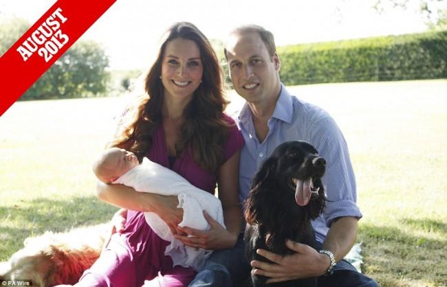 來自英國皇室的祝福:一家四口迎接小公主 Charlotte 的第 1 個快樂聖誕 6