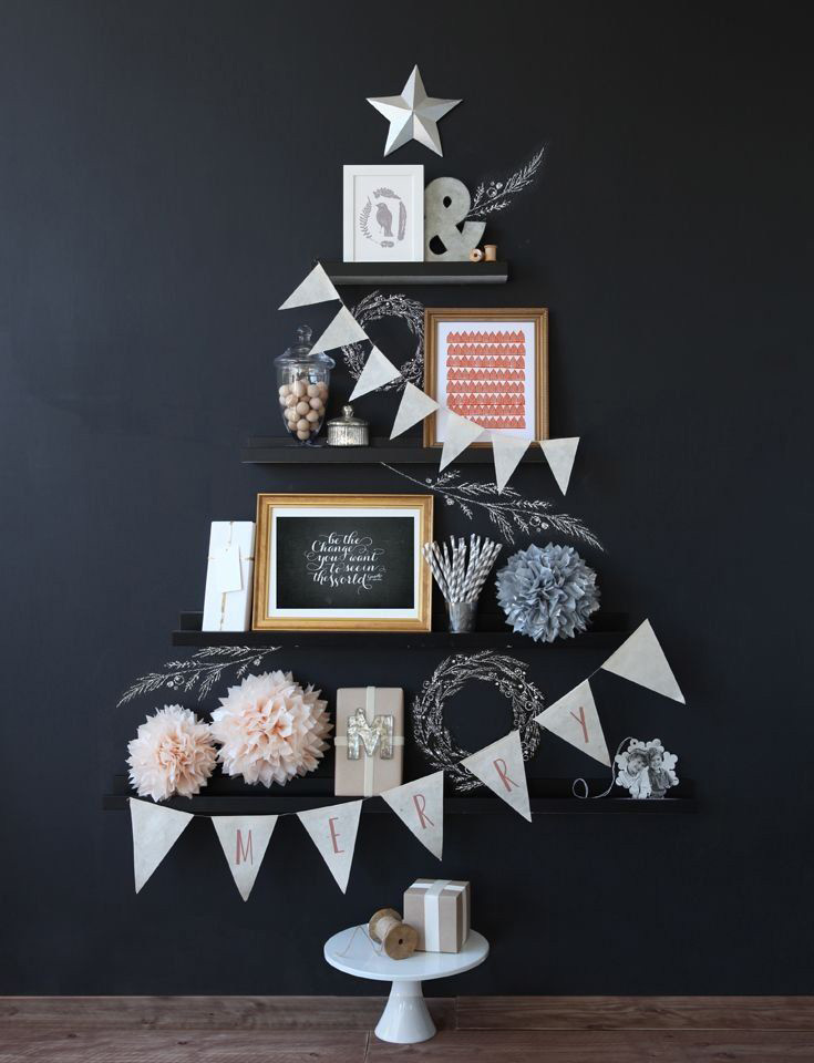 DIY Christmas Tree Ideas For Small Apartment 2