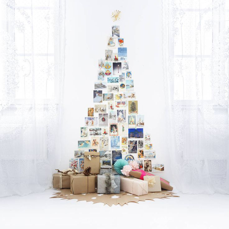 DIY Christmas Tree Ideas For Small Apartment 4