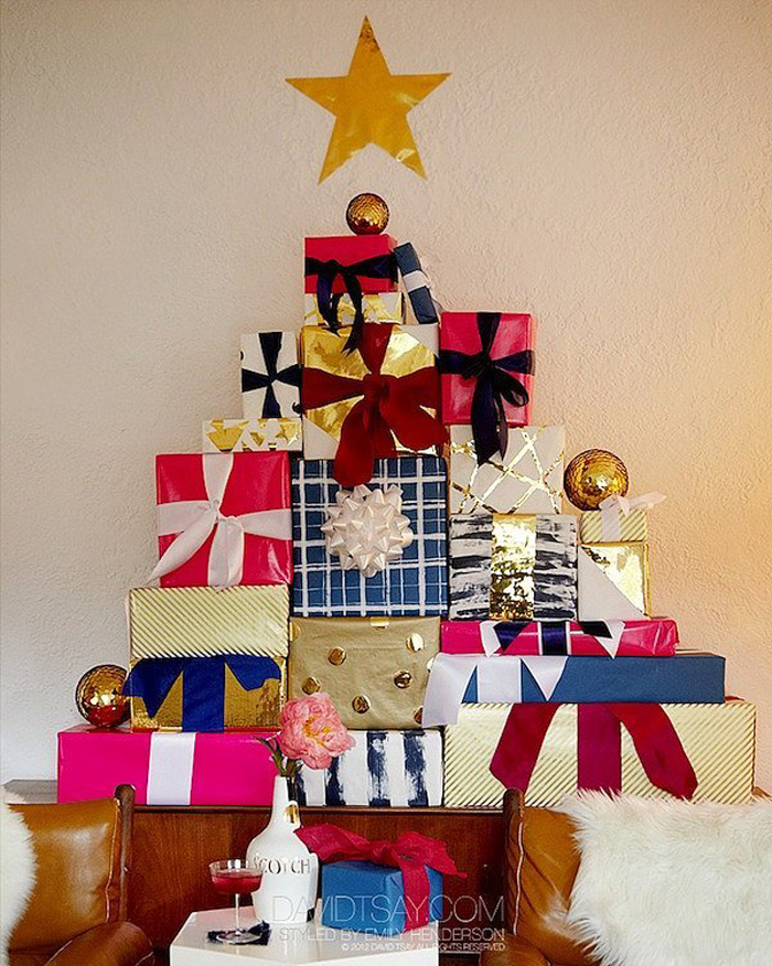 DIY Christmas Tree Ideas For Small Apartment 7